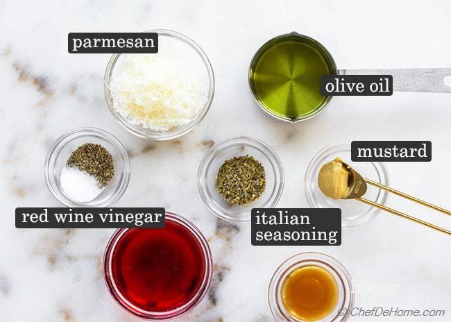 Italian Pasta Salad Dressing Ingredients