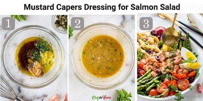 How To Make Dressing for Salmon Nicoise Salad