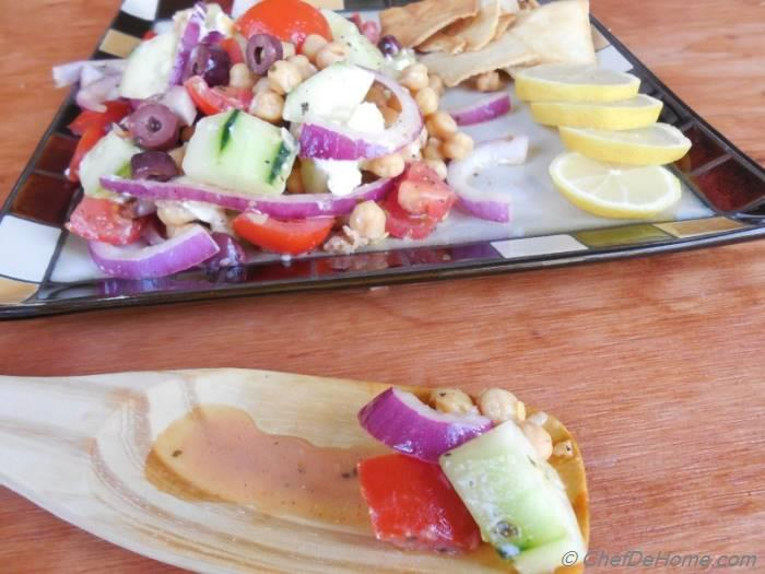 Greek-Style Chickpea and Cucumber Salad Recipe ...