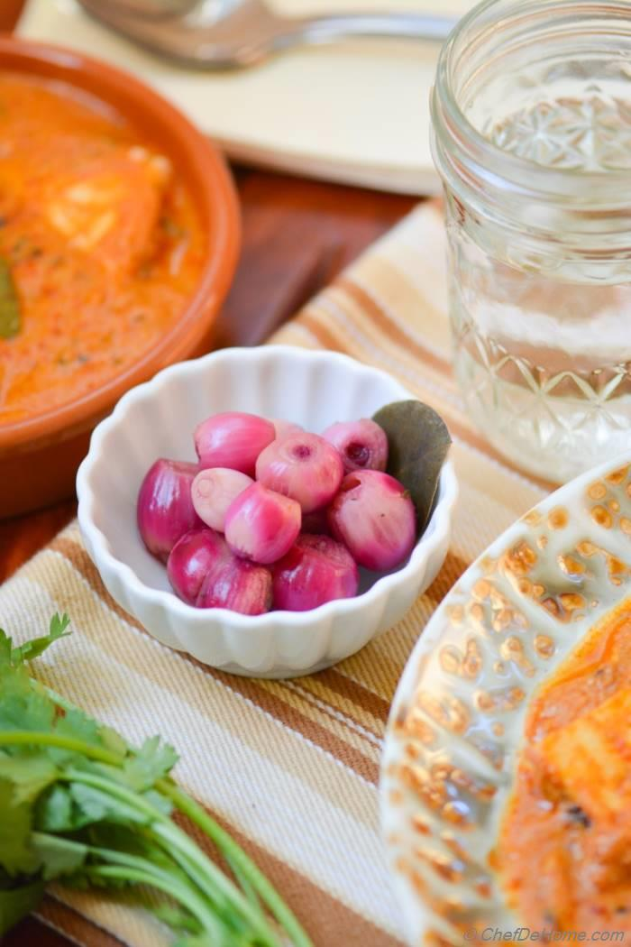 Pickled Onions - The Indian Restaurant Way Recipe — Dishmaps