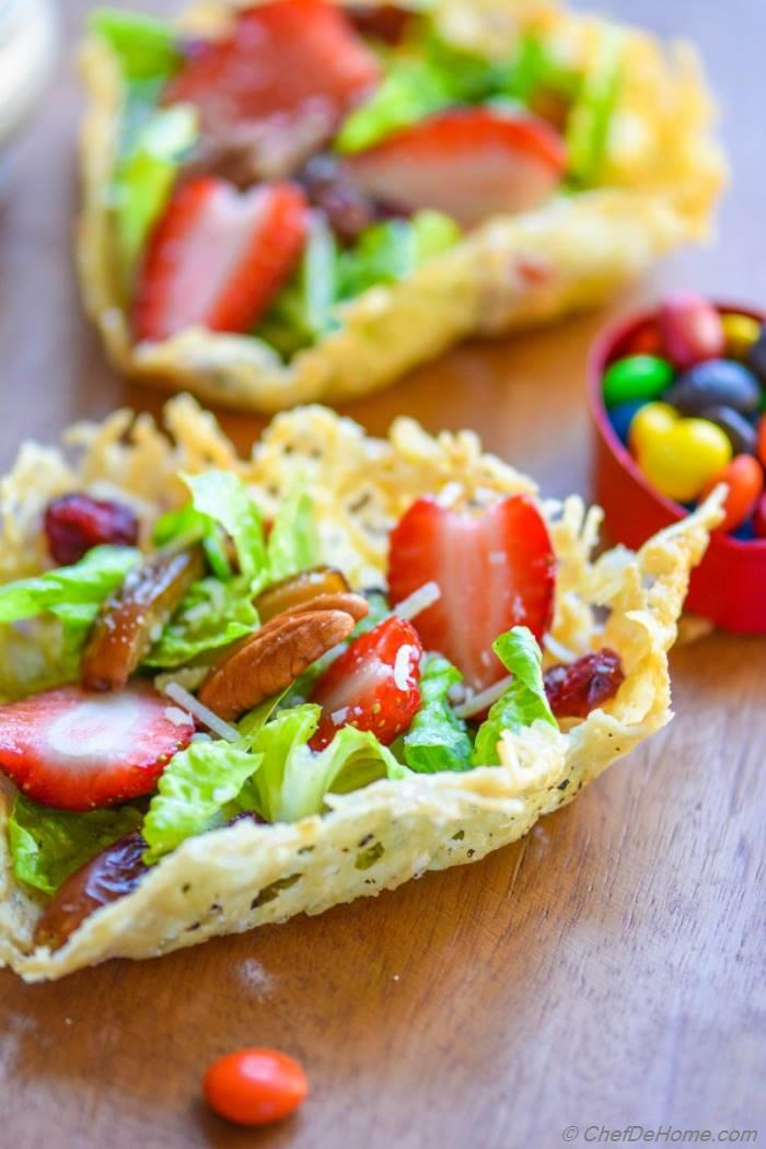 Single serve salad dressing Single salad love test - DR CIUCA
