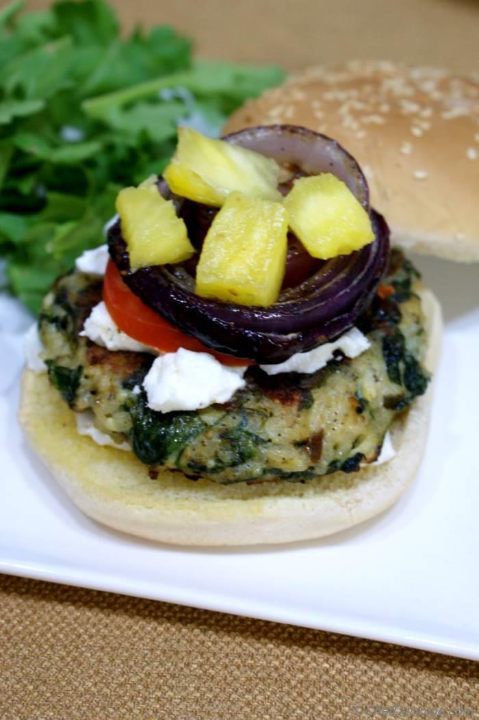 Easy Meat-less Burgers Recipe