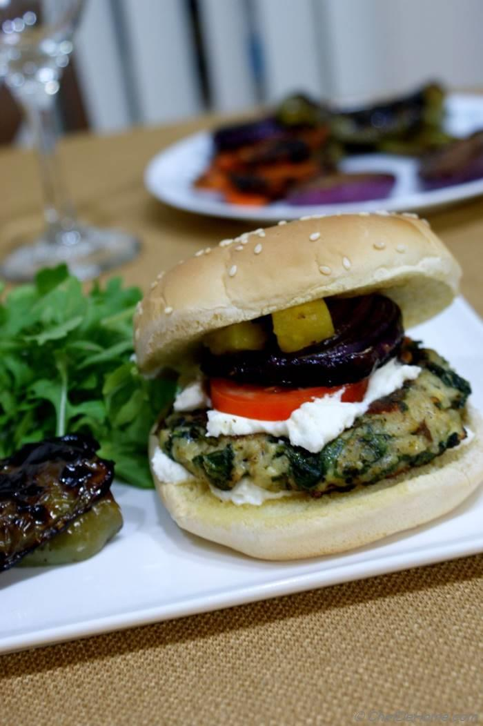 Veggie and Rice Burgers - Easy and Healthy