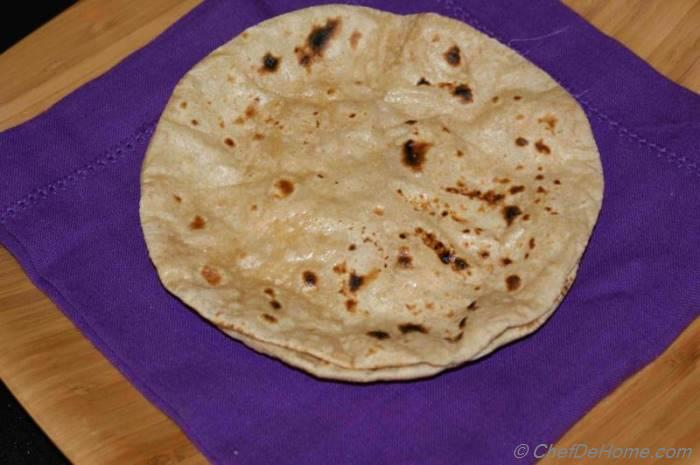 how to make soft whole wheat chapatis