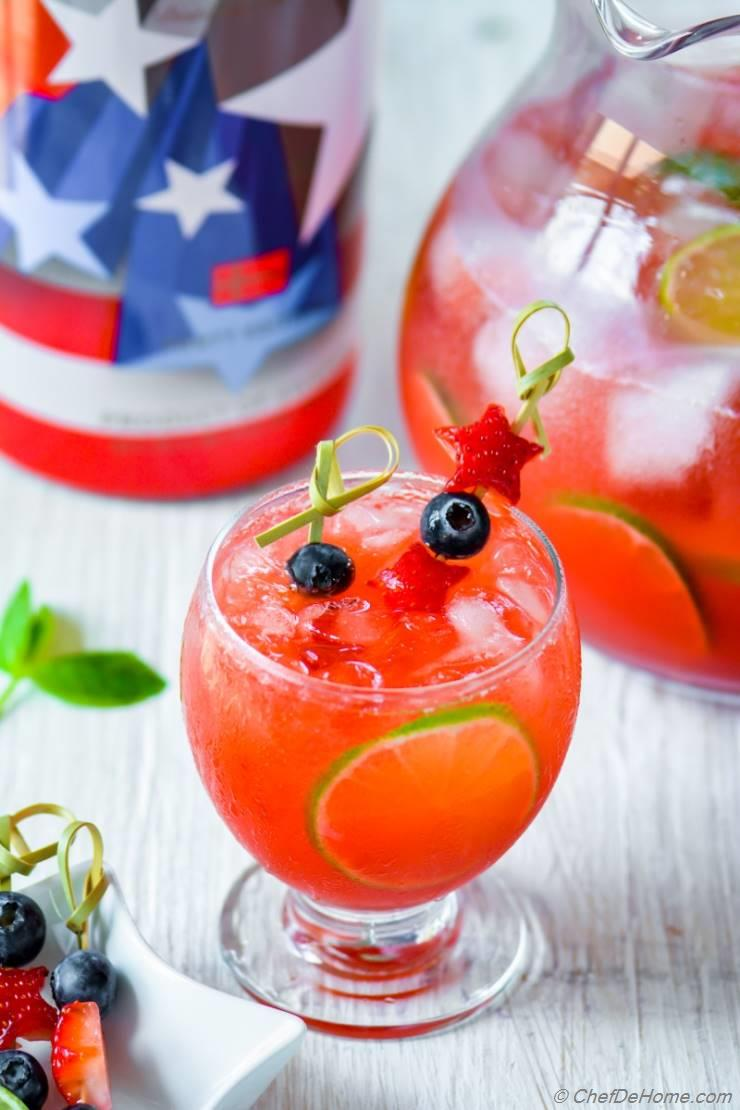 Spiked Vodka Strawberry Agua Fresca
