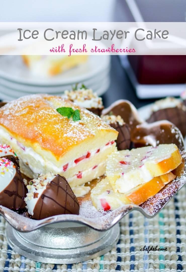 Easy Ice Cream Layer Cake