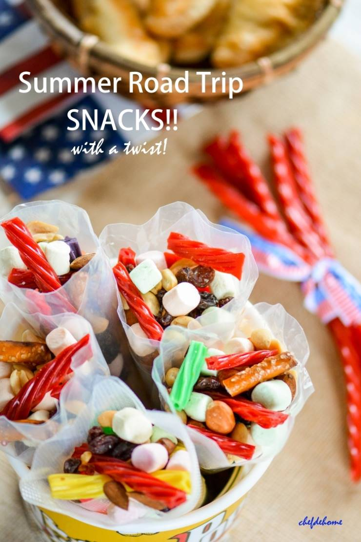 Summer Road Trip Snacks With Twizzlers Recipe Chefdehome Com