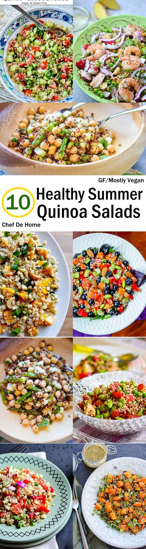 10 Healthy Quinoa Salads