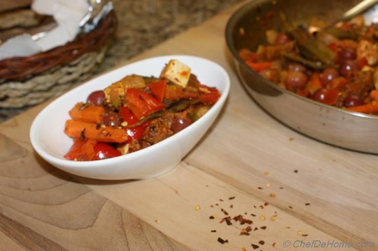 Curried Sauteed Mix Vegetables