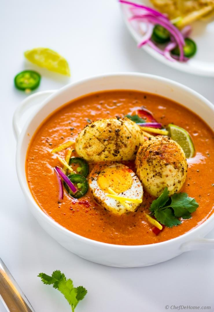 Egg Curry Tikka Masala