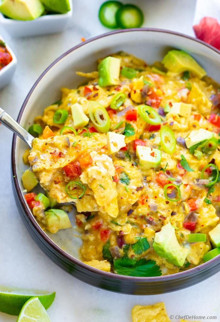 Migas (Mexican Scrambled Eggs)