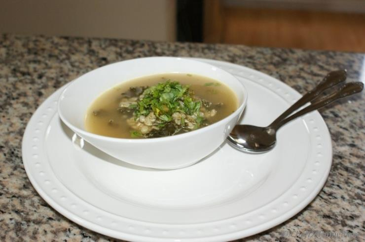Kale and Barley Soup