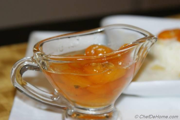 Candied Kumquat in Kumquat Syrup