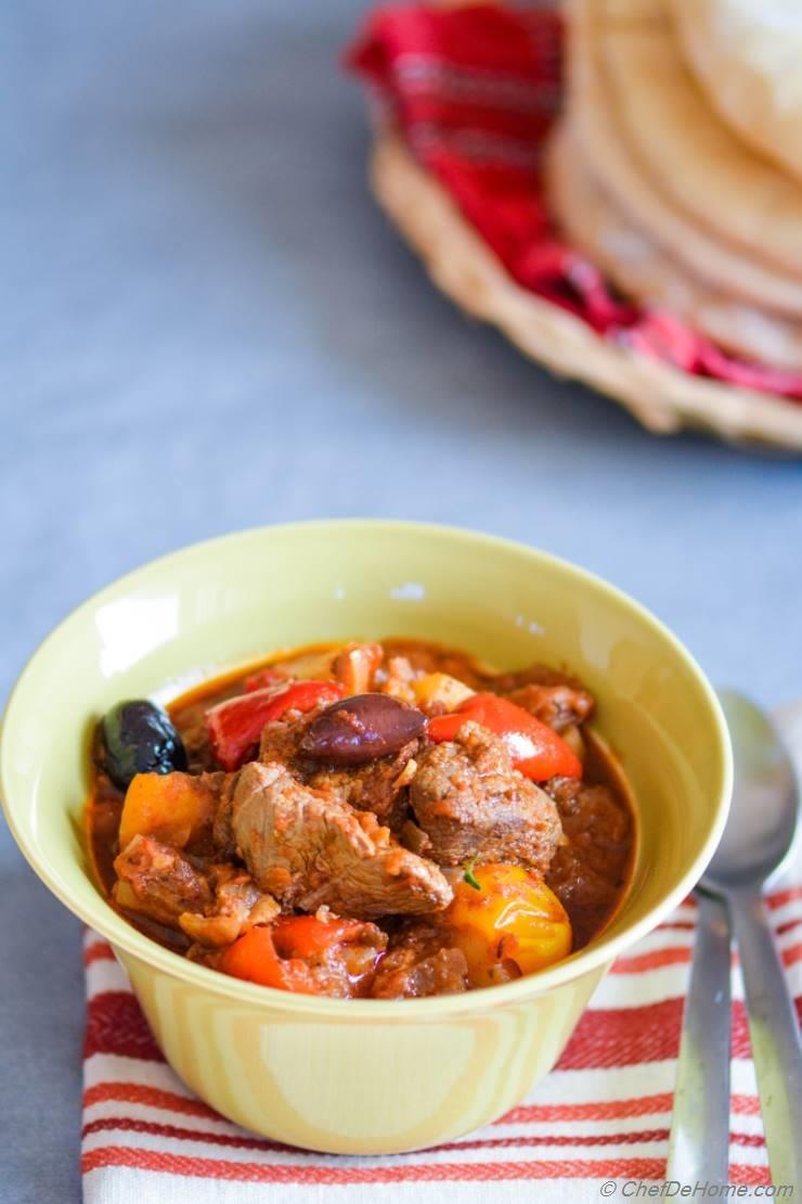 Lamb and Potatoes Stew