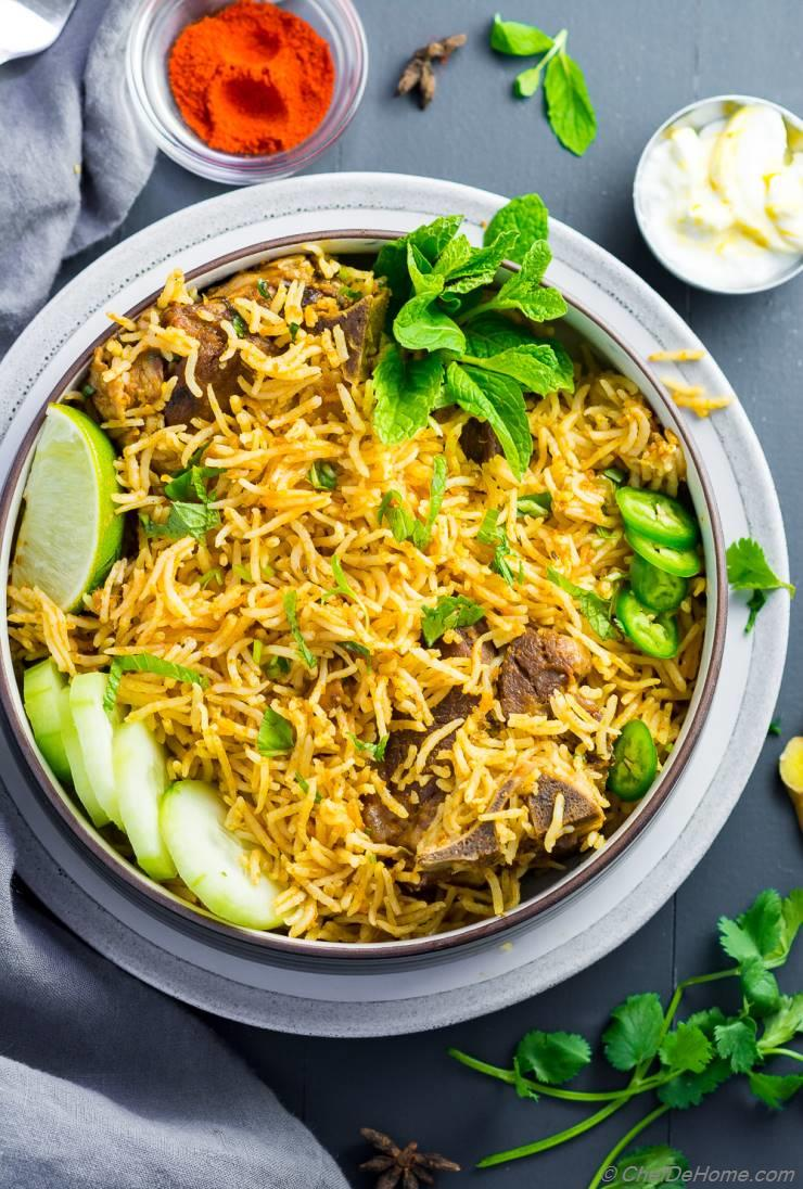 Lamb Curry Rice (Instant Pot, Pressure Cooker)