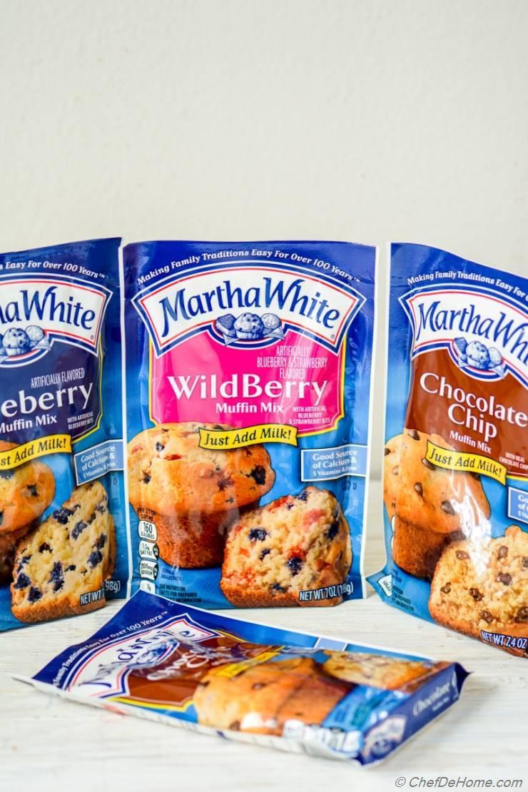 New Martha White® Baking Mixes