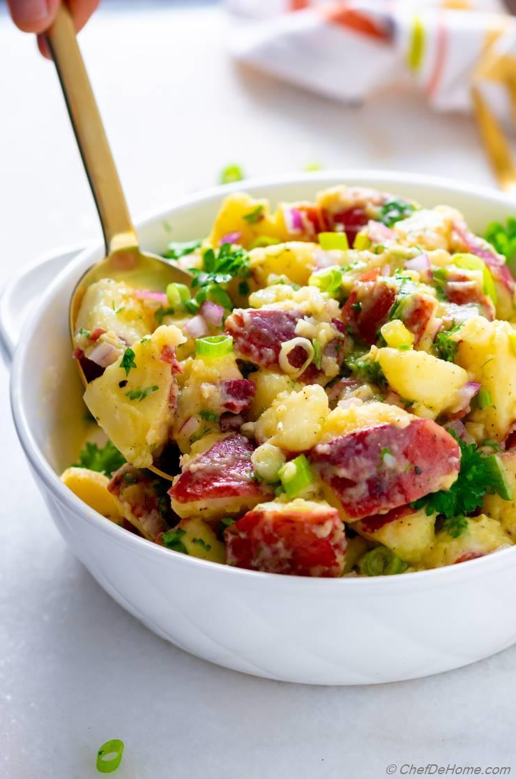 Potluck Potato Salad Recipes