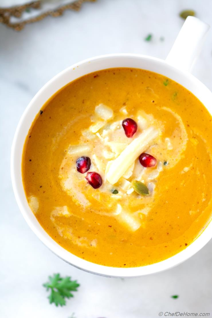 Savory Pumpkin Bisque