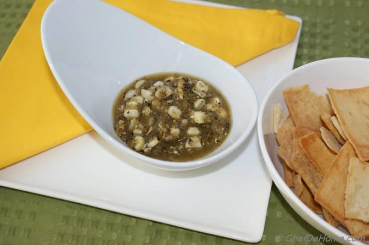 Roasted Corn and Tomatillo Salsa