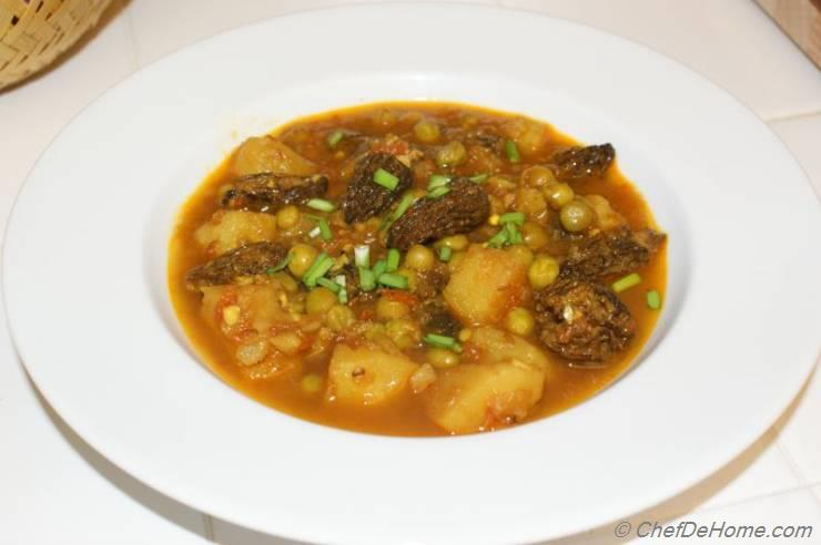 Morel Mushroom Curry