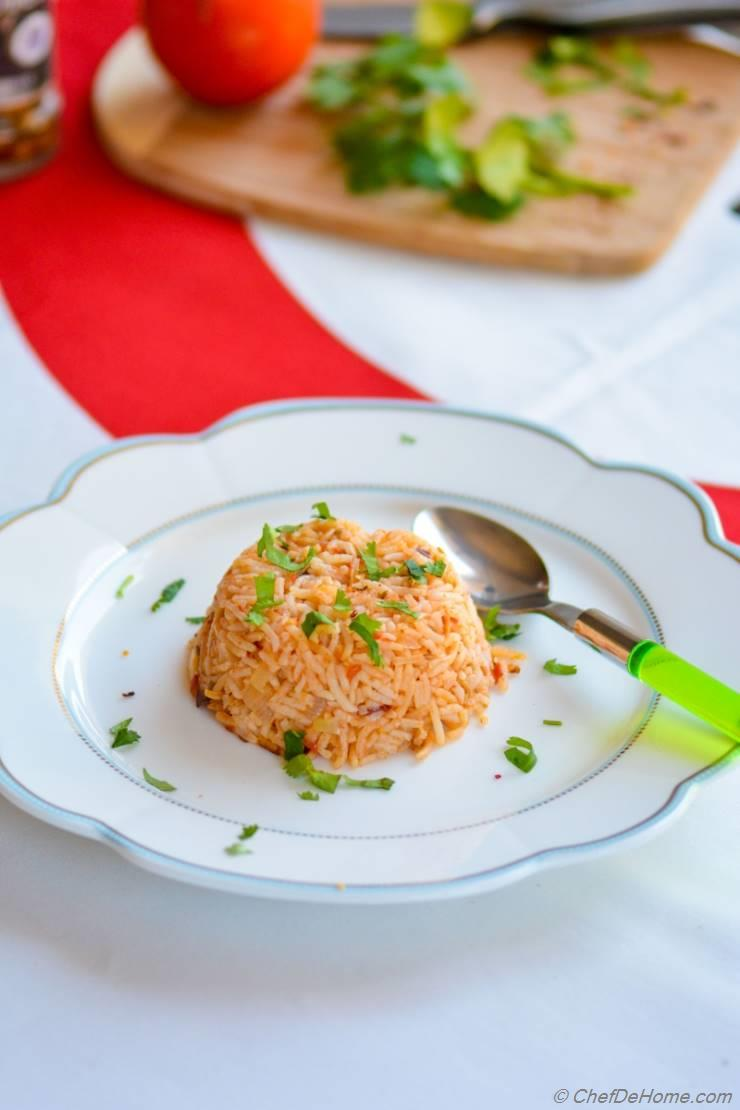 Spanish Tomato Rice with Smoked Chipotle