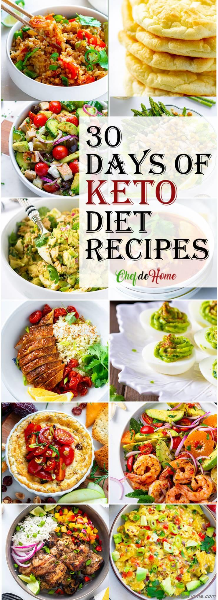 30 Days of Keto Diet