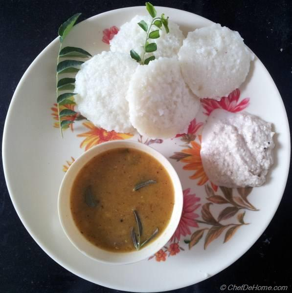 Authentic Rava Idli