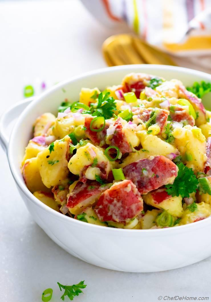 Can German Potato Salad Be Made Ahead