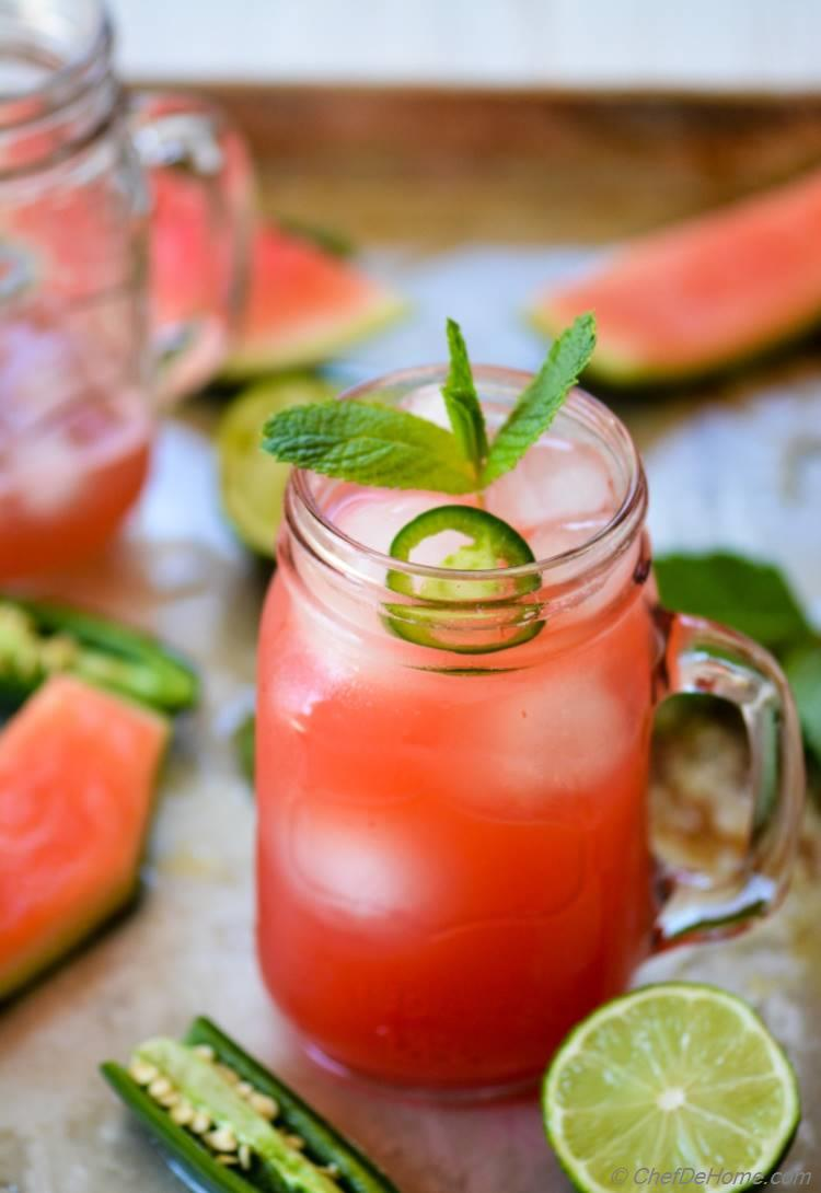 Mexican Watermelon Agua Fresca for Cinco De Mayo | chefdehome.com