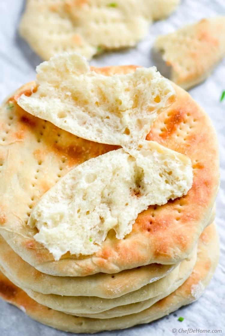 Soft naans perfect to make naan sandwiches | chefdehome.com