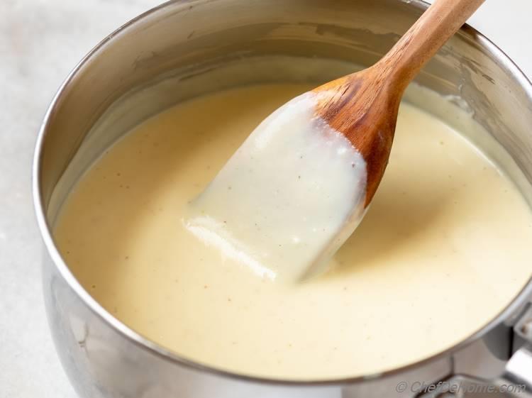 Creamy Silky Béchamel Sauce
