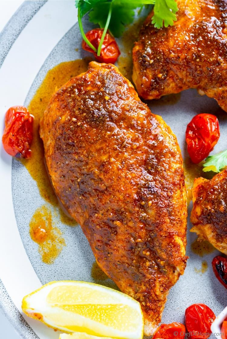 Baked Blackened Chicken Recipe