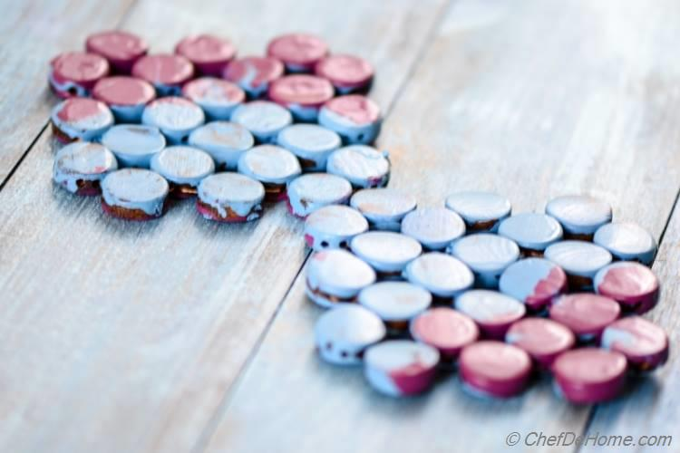 DIY Painted Coasters for Food Photography | chefdehome.com