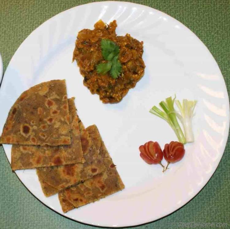 Roasted Eggplant Curry - Indian Baingan Bharta