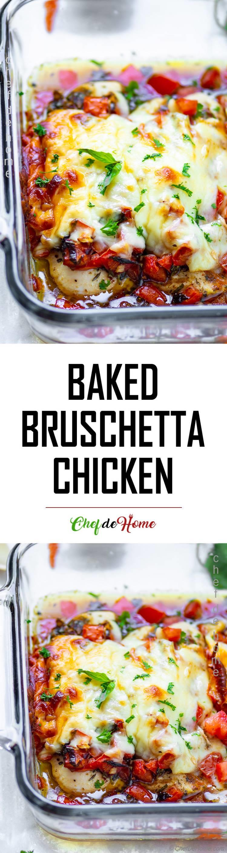 Best Ever Bruschetta Chicken Recipe