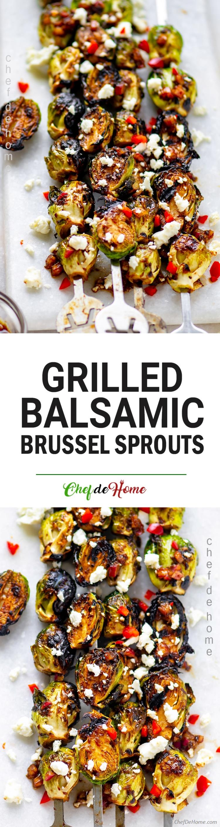 Crispy Grilled Brussel Sprouts Recipe