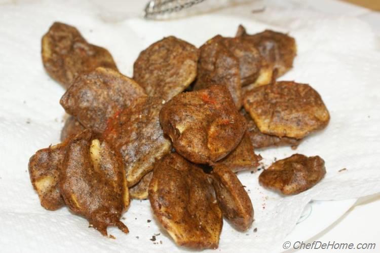Buckwheat Batter Fried Potatoes