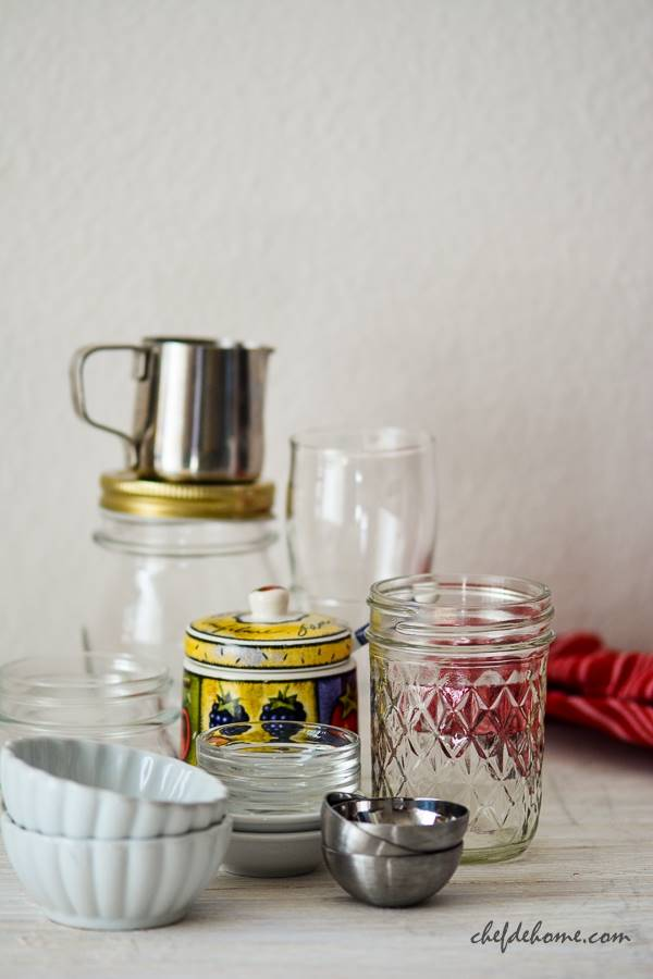 Food Styling Props Jars and Condiment Bowls | Chefdehome.com