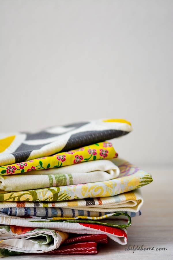 Food Styling Props Napkins and Towels | Chefdehome.com