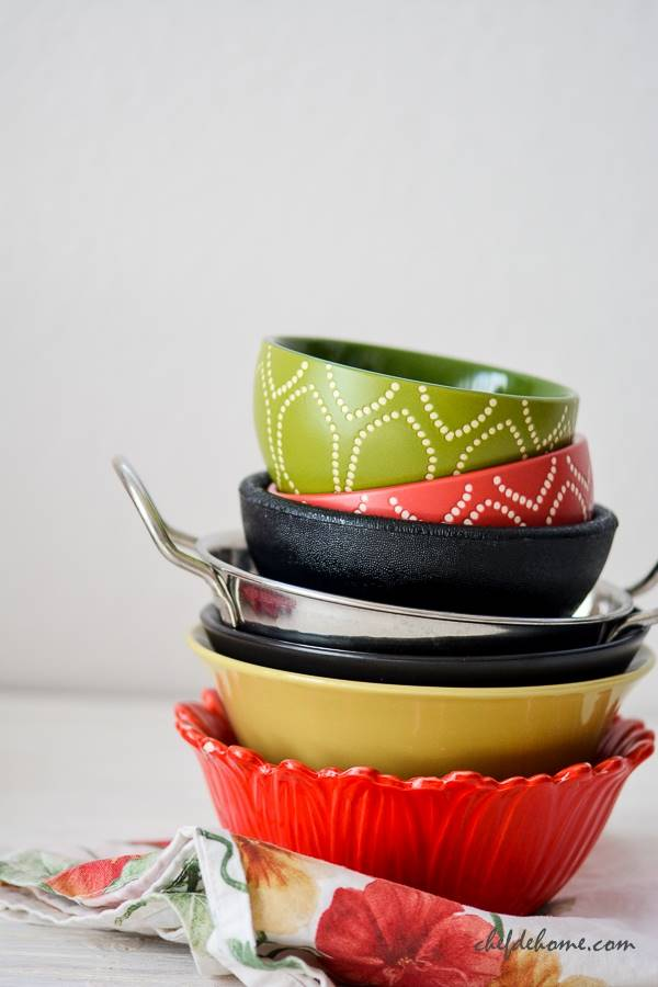 Food Styling Small Bowls | Chefdehome.com