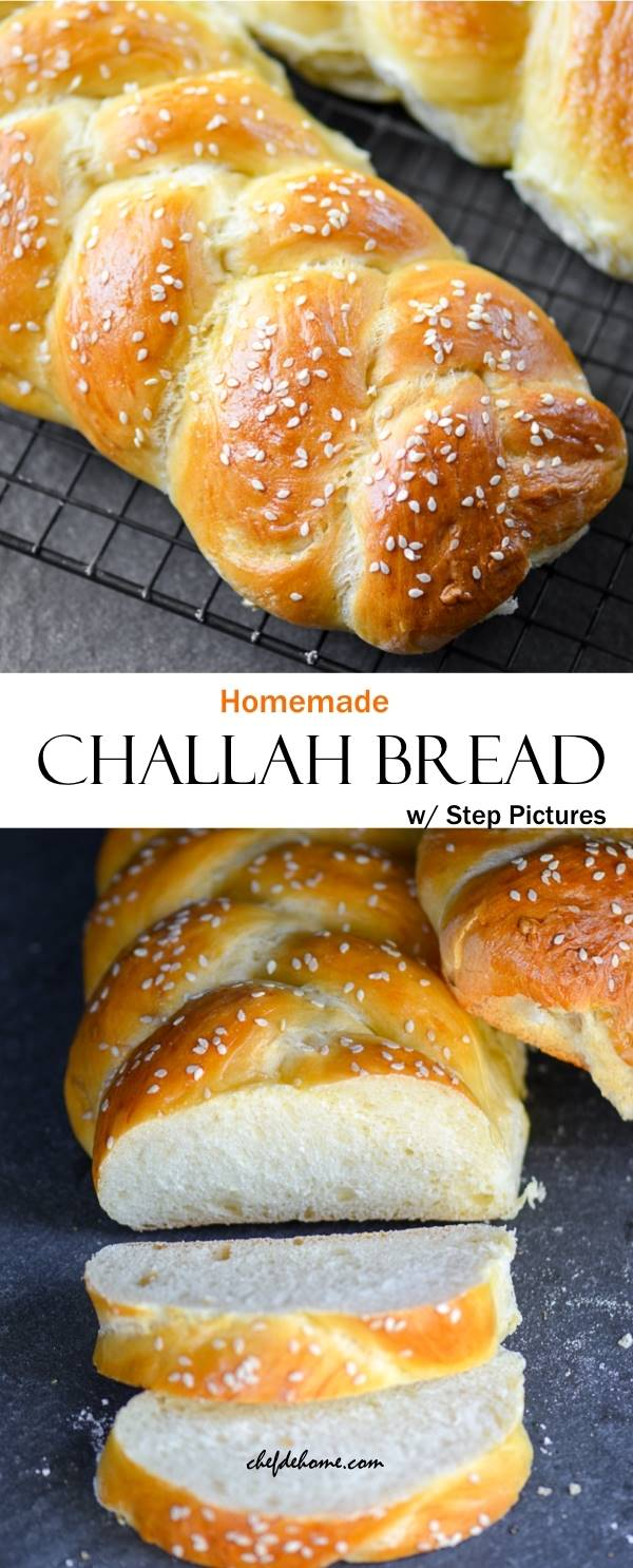 Scrumptious Traditional Braided Challah Bread for Dinner