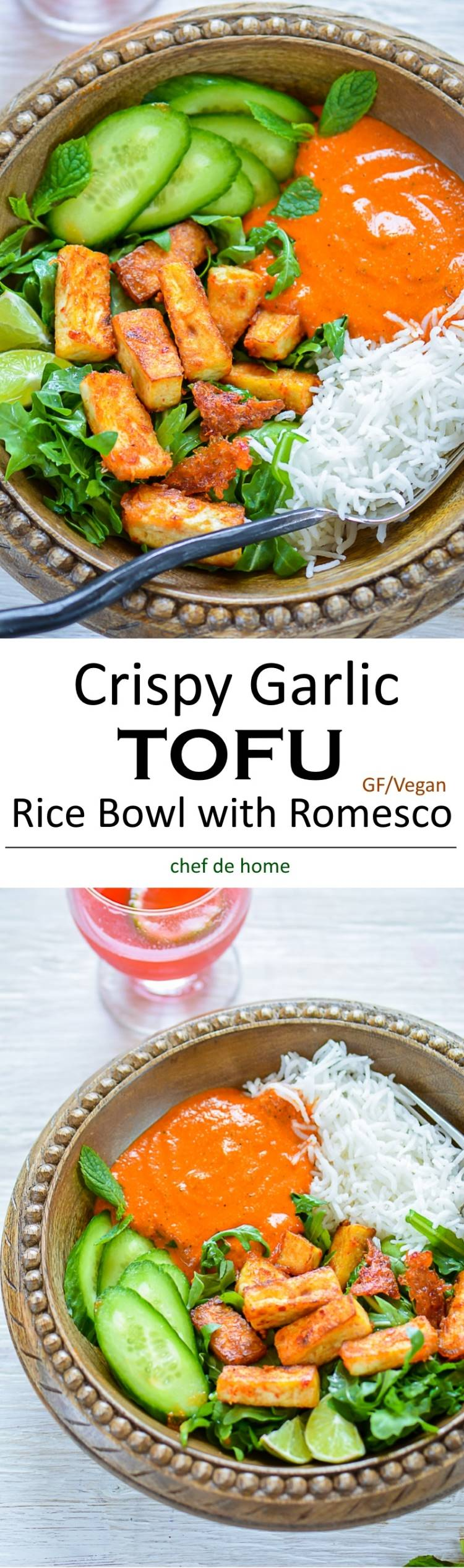 crispy pan fried tofu spicy lemon sauce with crispy pan fried tofu