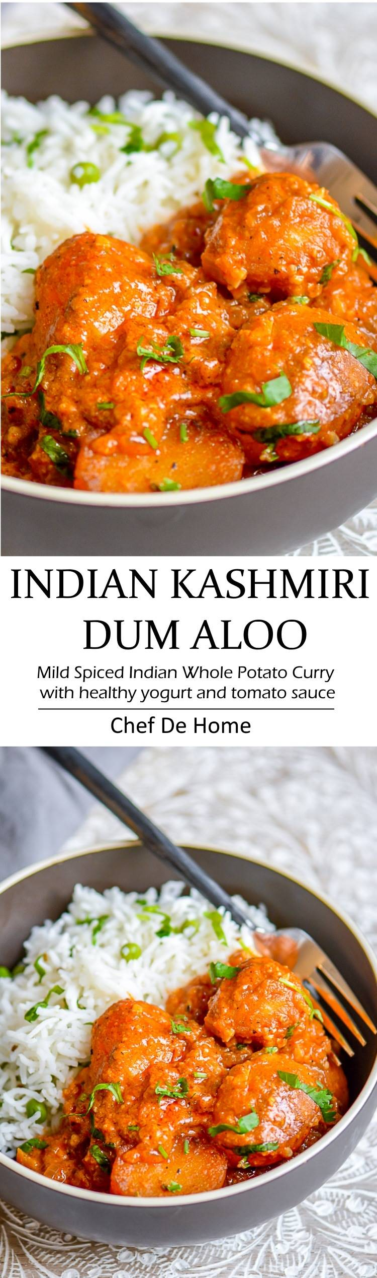 Kashmiri dum aloo recipe chefdehome delicious indian dinner with easy potato curry called kashmiri dum aloo a yogurt base and forumfinder Choice Image