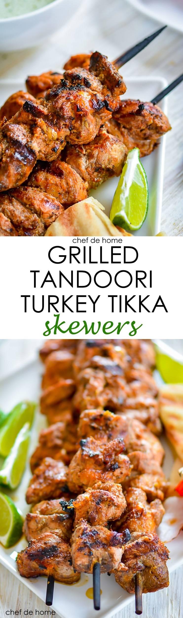 Grilled tandoori turkey breast with indian tikka masala flavors | chefdehome.com