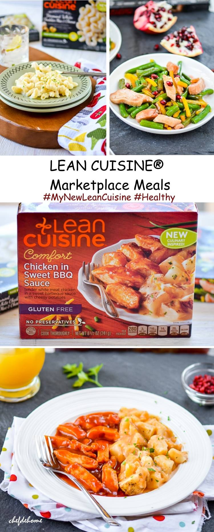Lean Cuisine Marketplace Meals | chefdehome.com