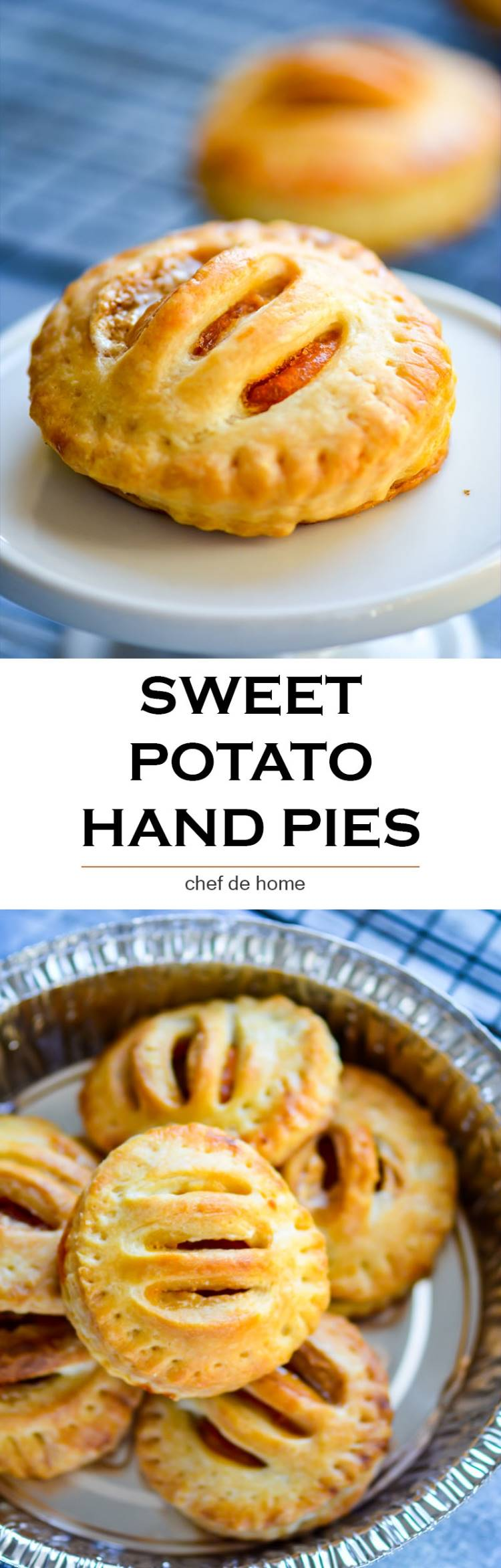 Leftover sweet potato hand pies | chefdehome.com