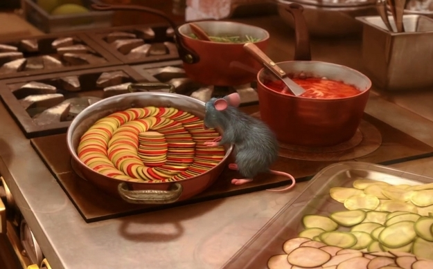 Picture from Pixar movie Ratatouille