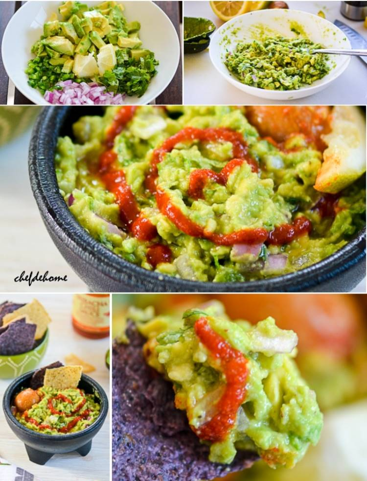 Ready for Cinco De Mayo Party with Sriracha Guacamole | chefdehome.com