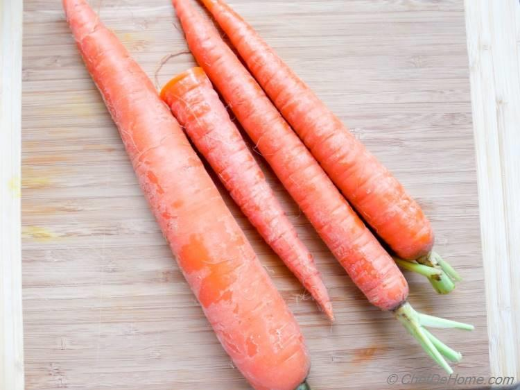Carrots for Carrot Halwa