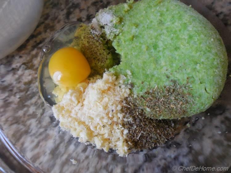 Cauliflower Crust Dough